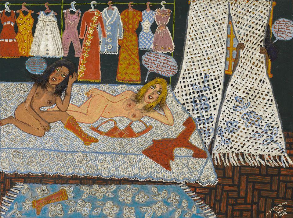Obra da pintora mineira Maria Auxiliadora