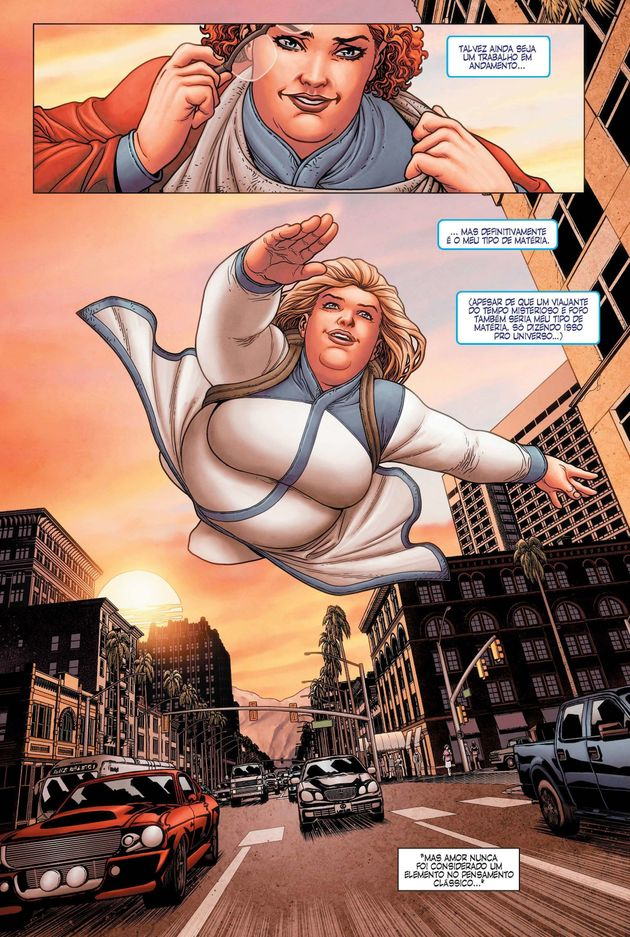 'Faith', a aclamada HQ da super-heroína gorda de Los Angeles, acaba de chegar ao
