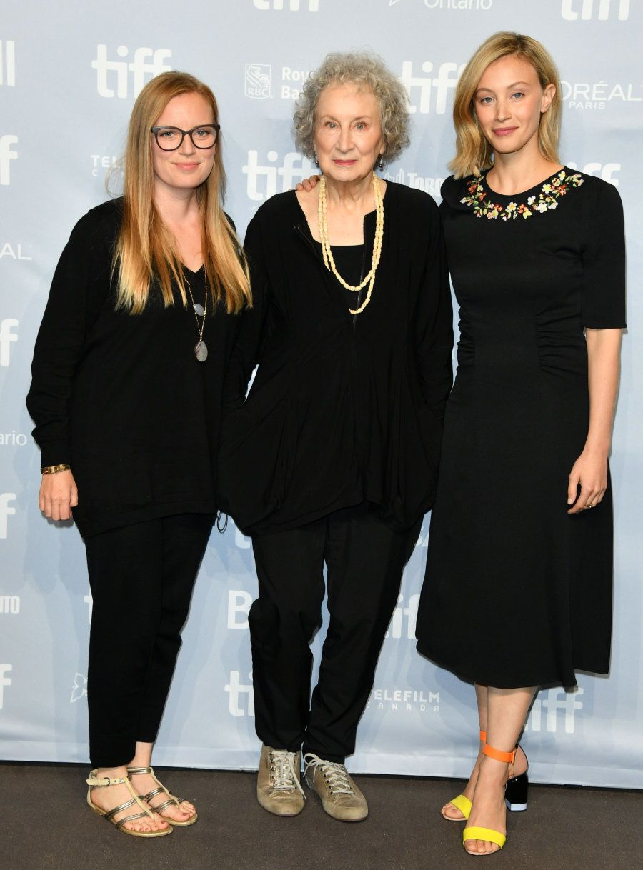 Sarah Polley, Margaret Atwood e Sarah Gadon no Toronto International Film