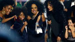 AMA 2017: O encontro de Diana Ross com os netos no palco foi a coisa mais linda da