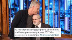 Jô Soares se emociona ao falar sobre filho autista no Conversa com Bial: 'Jamais o
