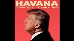 O mashup que faz Trump cantar 'Havana', de Camila Cabello, é uma obra de