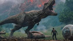 Dinossauros e humanos estão em perigo no 1º trailer de 'Jurassic World: Reino