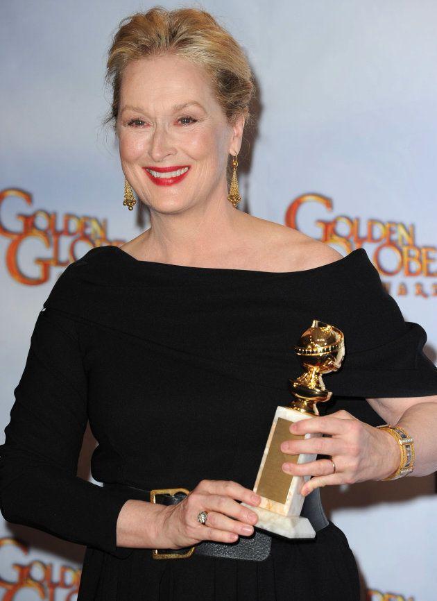 Meryl Streep na 67ª edição do 'Globo de