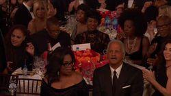 Precisamos falar sobre esta mesa poderosa de Oprah no 'Globo de Ouro