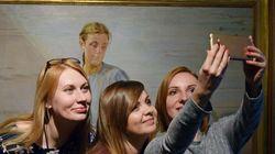 Por que as pessoas estão compartilhando selfies feitas em