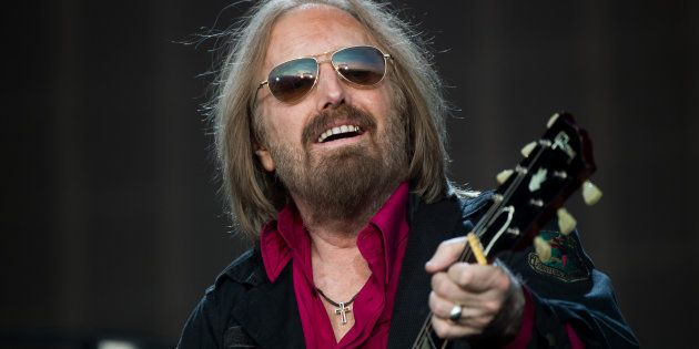 LONDON, ENGLAND - JULY 09: Tom Petty of Tom Petty And The Heartbreakers performs at Barclaycard British...