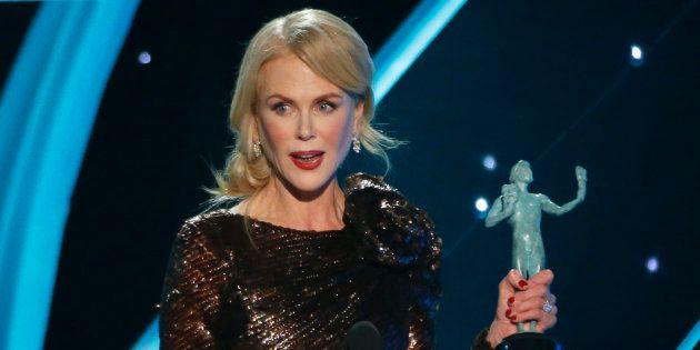 O apelo de Nicole Kidman no SAG Awards pelo fim do preconceito por idade em