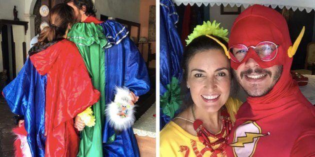 Fátima Bernardes e Túlio Gadêlha estão aproveitando um Carnaval intenso e romântico em