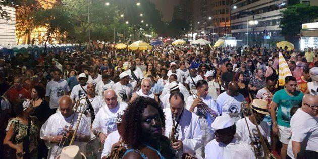 Carnaval no Centro de São Paulo celebra