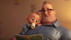 'Os Incríveis 2': As rotinas estão invertidas no trailer da nova animação da