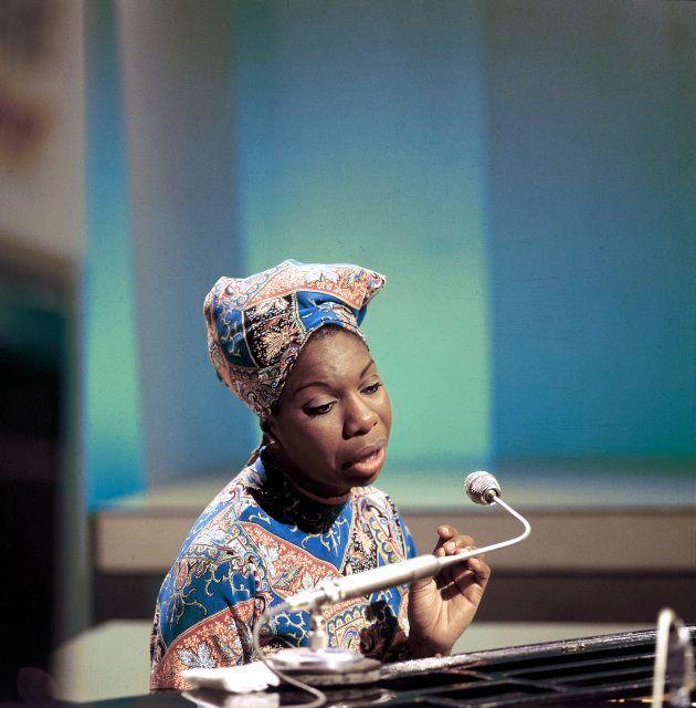 Nina Simone em registro da BBC