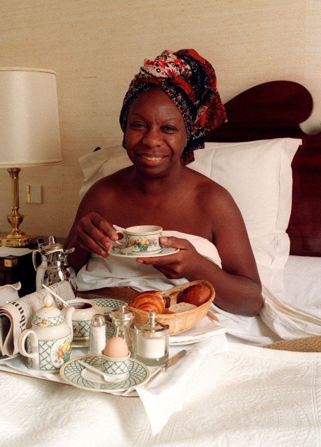 Nina Simone em julho de 1988, ano em que esteve no