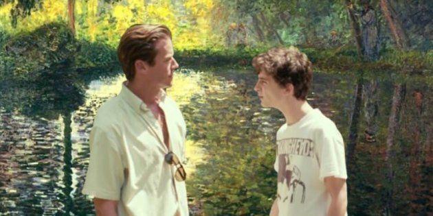 Oliver e Elio deixaram a Itália para viver um romance nas paisagens impressionistas de