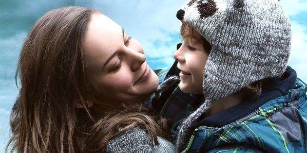 Brie Larson e Jacob Tremblay em cena de 'O Quarto de