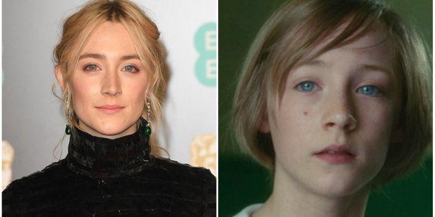 Saoirse Ronan já estrelou 'Desejo e Reparação' (2007) e concorre ao seu primeiro Oscar pelo trabalho...