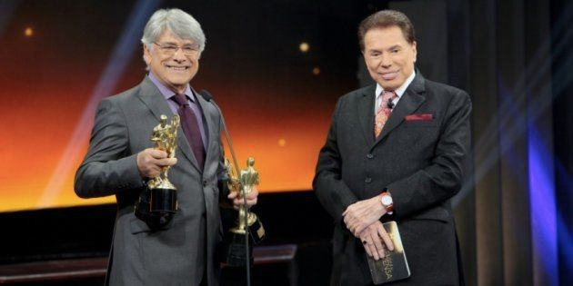 Sérgio Chapelin vai ao SBT buscar prêmios obtidos no Troféu Imprensa desde