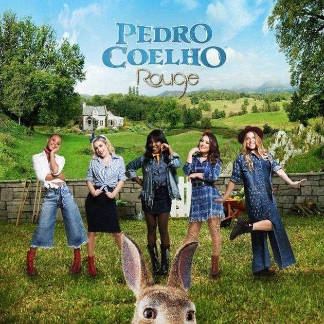 Rouge está na trilha sonora do filme Pedro Coelho, da Sony