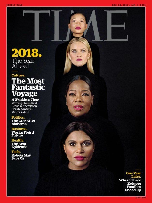 Em apenas uma fotografia, a capa da Time sintetiza todo o momento de transformação em