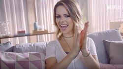 Sandy estrela campanha da Netflix para série 'La Casa de