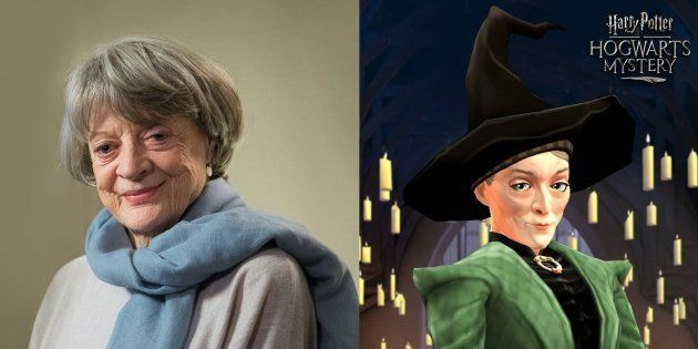 Atriz Maggie Smith dubla a personagem Professora McGonagall em game