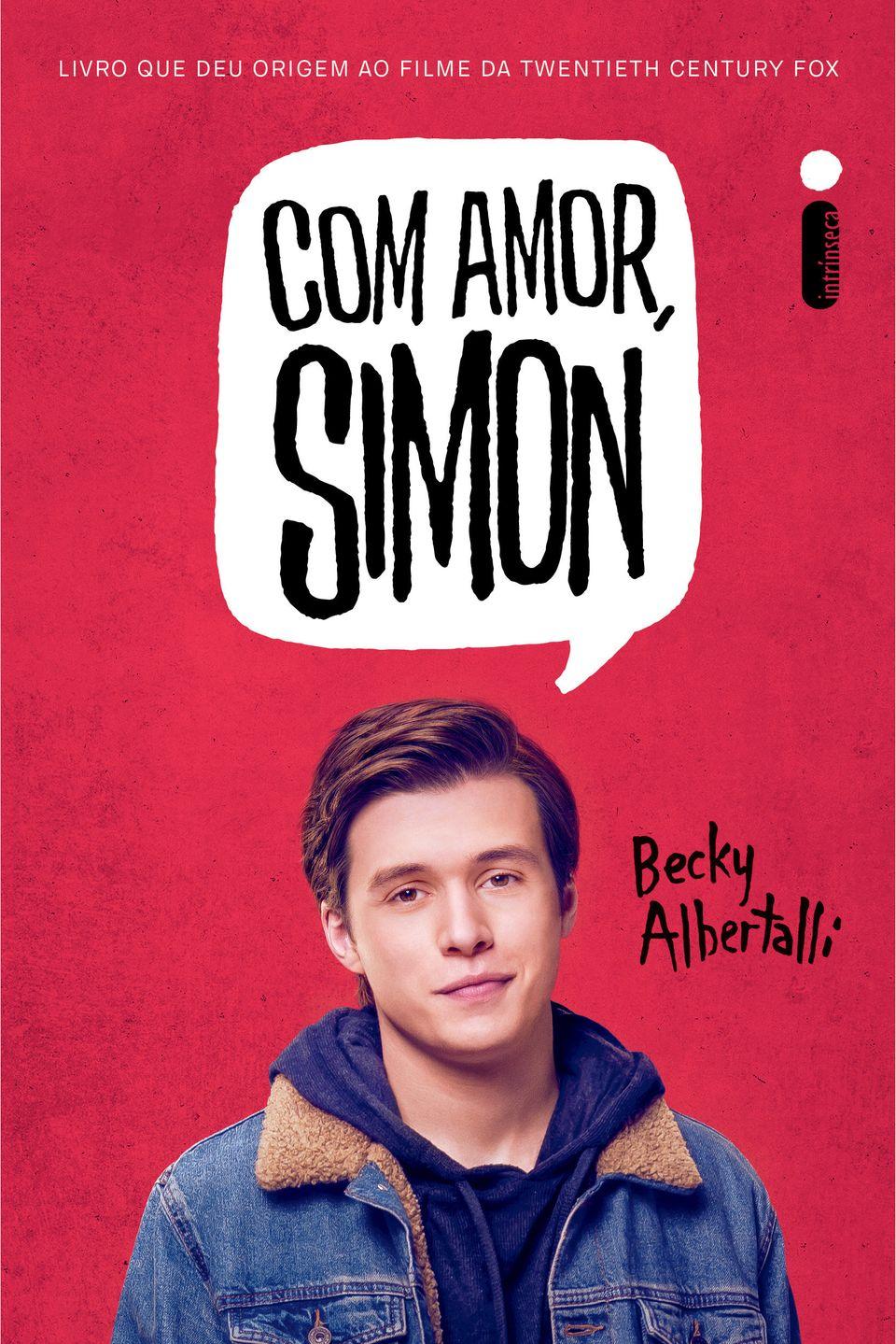 O ator Nick Robinson, intérprete de Simon, em capa da nova edição do