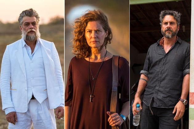 Fábio Assunção, Patricia Pillar e Alexandre Nero formarão triângulo amoroso na