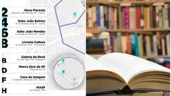 Para conhecer a pé: Os roteiros com os melhores sebos de São Paulo e do