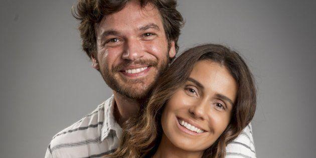 Beto Falcão (Emílio Dantas) e Luzia (Giovanna Antonelli) formam o casal de protagonistas de 'Segundo