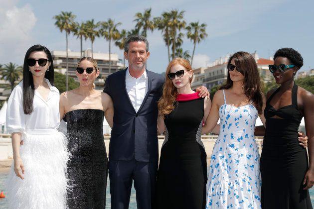 Elenco e diretor do inédito '355' se reuniram em Cannes na última quinta