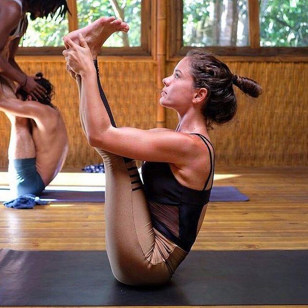 Bruna Paludetti é professora do estilo Hatha Vinyasa
