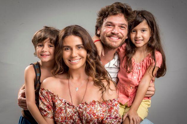 Beto Falcão (Emili Dantas) e Luzia (Giovanna Antonelli), o casal de protagonistas de 'Segundo