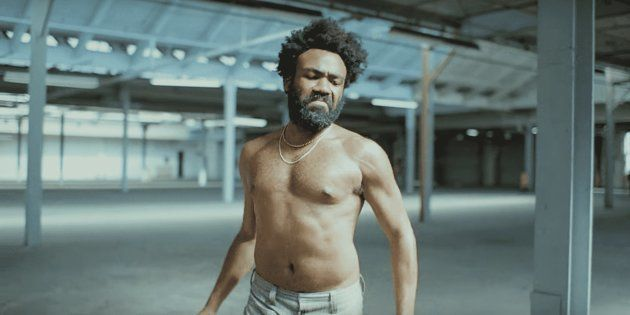 Cena do videoclipe de 'This is America', dirigido por Hiro