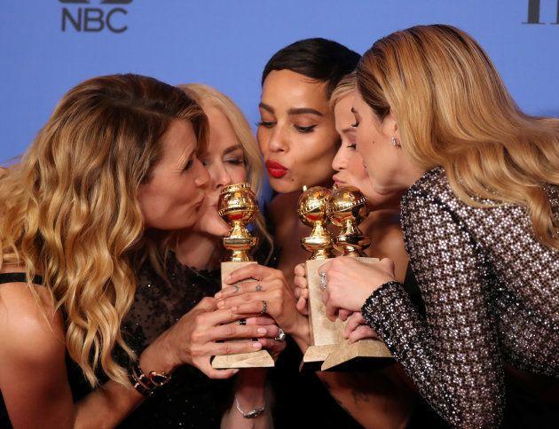 'Big Little Lies'foi o grande vencedor do Globo de Ouro 2018, com quatro
