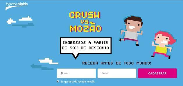 Imagem do hotstite da promoção 'Crush Vs