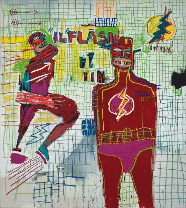 'Flash em Napoles', 1983, uma das obras presentes na exposição dedicada a