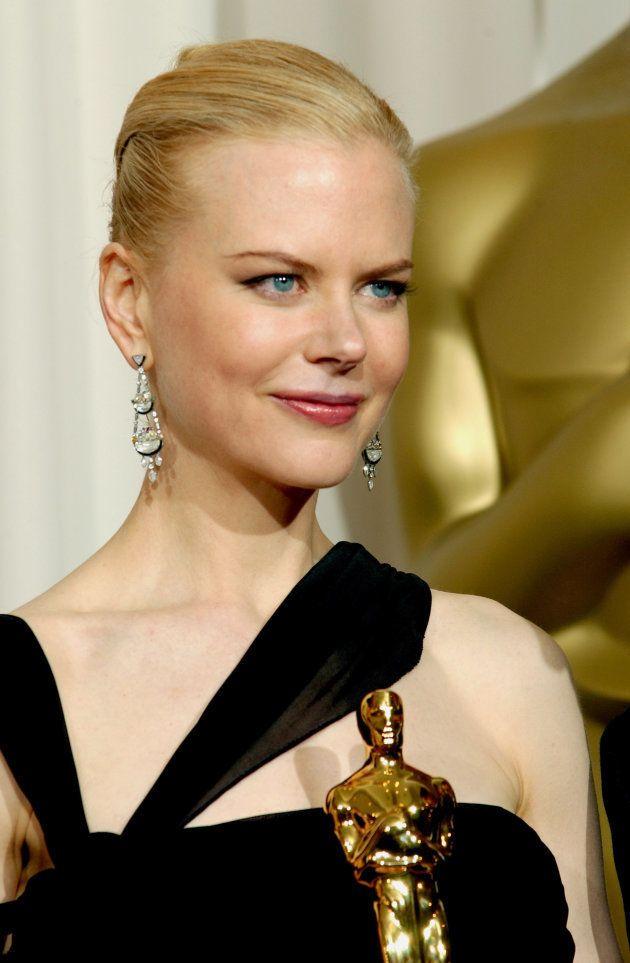 Nicole Kidman em 2003, quando ganhou o Oscar por sua atuação em 'As
