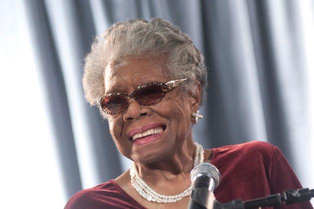 Maya Angelou, um dos célebres nomes do ativismo negro nos