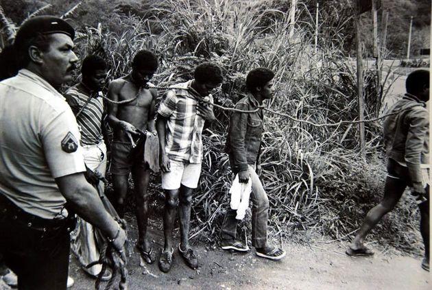 'Todos Negros' rendeu ao fotógrafo Luiz Morier seu primeiro Prêmio Esso, em 1983. A imagem foi publicada...