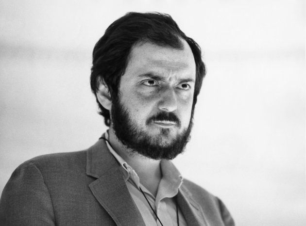 Stanley Kubrick no set de '2001 - Uma Odisseia no Espaço', em