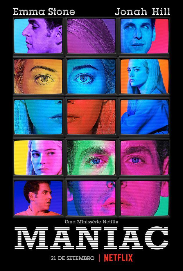 'Maniac': Emma Stone e Jonah Hill são cobaias humanas em nova minissérie da