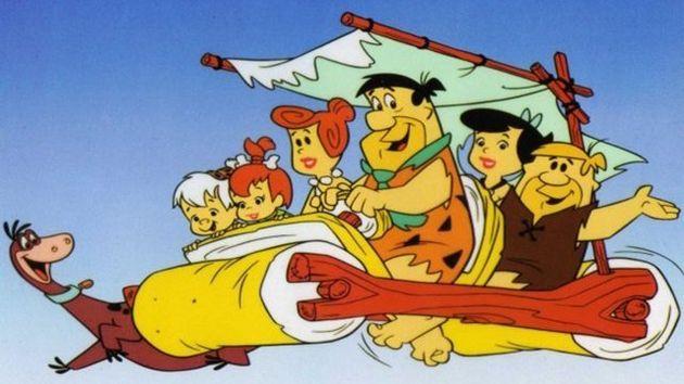 Fred, Wilma, Pedrita, Bambam, Barney e Betty, além do