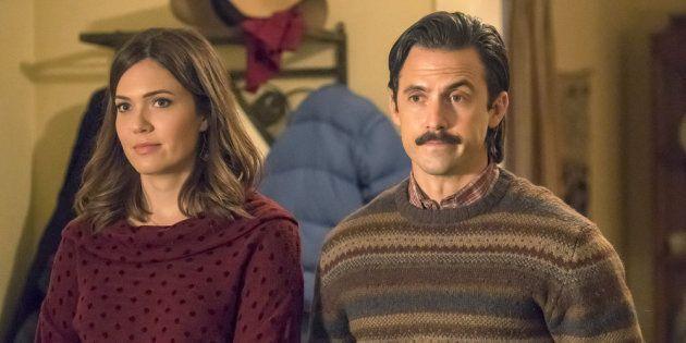 Jack e Rebecca, o casal protagonista de uma das séries americanas mais populares dos últimos