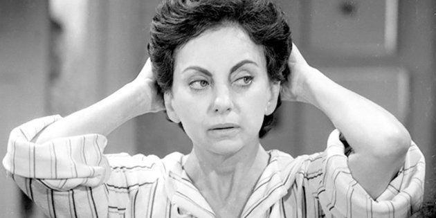 Beatriz Segall na novela 'Sol de Verão', em 1972, da Rede