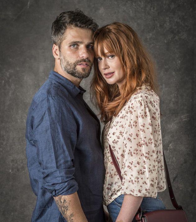 Gabriel (Bruno Gagliasso) e Luz (Mariana Ruy Barbosa) vivem amor proibido em 'O Sétimo