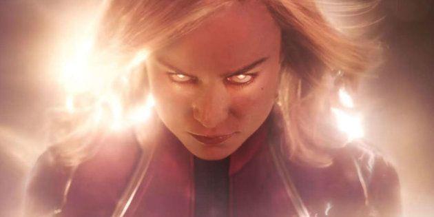 Brie Larson dá vida à heroína com poderes