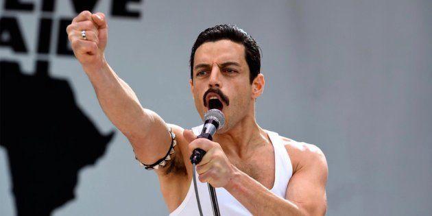Ramy Malek dá vida ao icônico Freddie Mercury em 'Bohemian