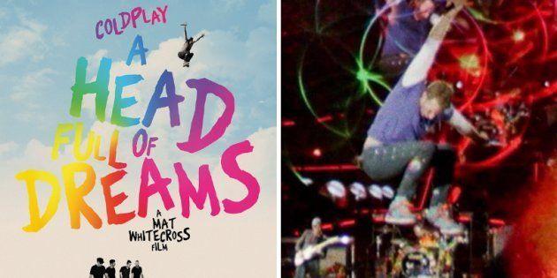 Documentário de Coldplay tem cenas gravadas ao longo de 20