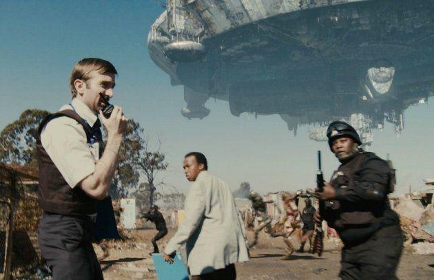 Cena da ficção científica sul-africana Distrito