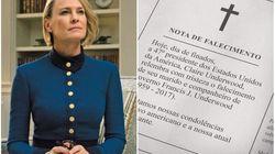 Viúva e há 100 dias na Presidência: Esta é Claire Undewood no desfecho de 'House of